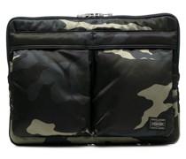 Laptophülle mit Camouflage-Print