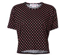 - T-Shirt mit Punkten - women - Baumwolle - L