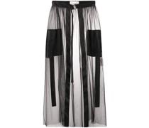 tulle overlay skirt