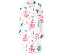 - Oversized-Hemd mit Print - women - Baumwolle