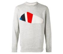 Sweatshirt mit Frottee-Patch - men - Baumwolle