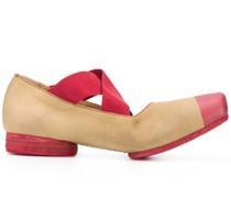 Ballerinas in Colour-Block-Optik