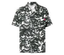 Kurzärmeliges Hemd mit floralem Print