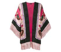 Kimonojacke mit Fransen