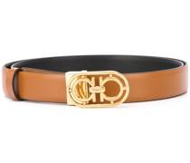 Gancini buckled belt