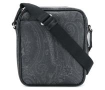 paisley print shoulder bag