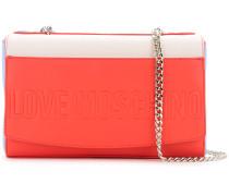 blockcolour foldover shoulder bag - women