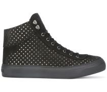 'Argyle' High-Top-Sneakers - men - Leder/rubber