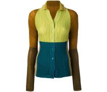 Hemd mit offenem Kragen - women - Polyester - 2
