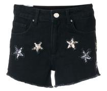 Shorts mit verzierten Sternmotiven