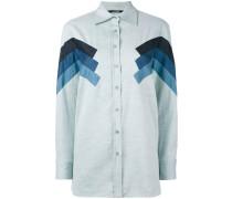Hemd mit Zickzack-Details - women - Baumwolle