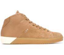 High-Top-Sneakers mit Kontrasteinsatz
