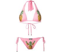 Bikini mit Ananas-Print