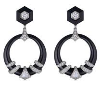 18kt Ohrringe mit Diamanten