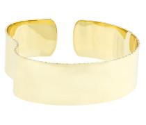 Slized organic dented arm cuff