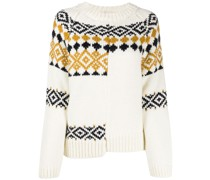 chunky knit reconstructed jumper