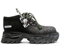 Sneaker-Boots mit breiter Sohle