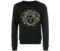 Sweatshirt mit Medusa-Verzierung