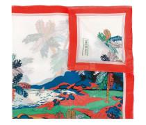 Seidentuch mit Palmen-Print