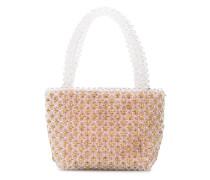 'Mina' Mini-Tasche mit Perlen