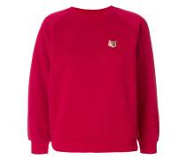 Sweatshirt mit Fuchs-Patch