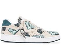 Print Low-Top Sneakers