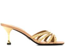 Sandalen mit Kristallen, 65mm