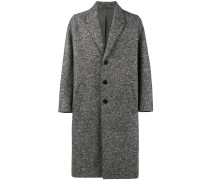 oversized grey wool coat