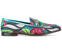 'Jordaan' Loafer mit Blumenmuster