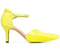 Sandalen aus Lackleder, 80mm
