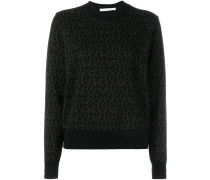 Pullover mit Sterne-Print