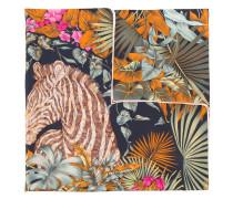 Seidenschal mit floralem Print - women - Seide