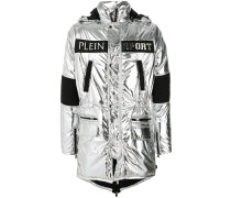 detachable fur hood coat