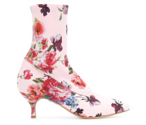 floral print sock boots