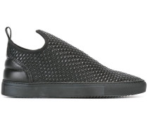 Gewebte Slip-On-Sneakers
