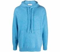 drawstring cashmere hoodie