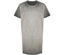Langes T-Shirt mit Reißverschluss
