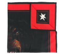 dog print scarf