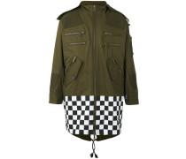 Military-Mantel mit Schachbrettmuster - men
