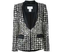 embroidered dinner blazer - women