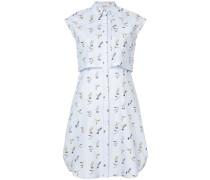 Hummingbird shirt dress