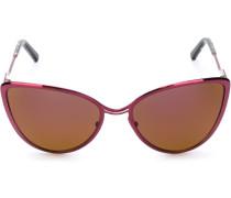 Sonnenbrille mit Cat-Eye-Sonnenbrille