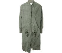 Military-Mantel im Used-Look - men - Baumwolle