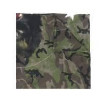 Monkey Brothers camo printed scarf