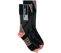 Intarsien-Socken