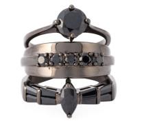 'Black on Black Memento' Ring