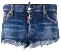 Ungesäumter Jeansshorts