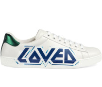 'Ace' Sneakers mit Print