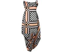 Kleid mit Schachbrettmuster - women