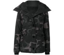 padded camouflage jacket